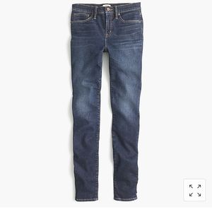 """9"""" high-rise stretch toothpick jean in Solano wash"""